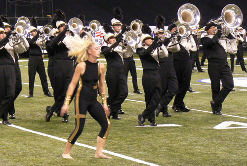 Avon High School Marching Black and Gold
