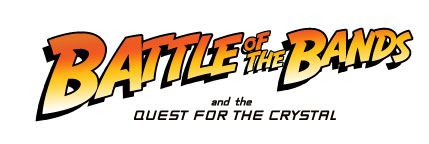 ESPN Battle of the Bands Quest for the Crystal Skull logo