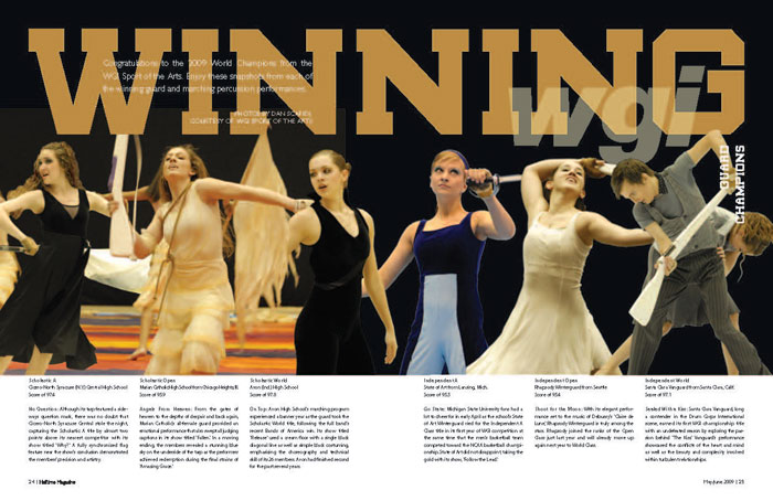 WGI Championships 2009 page 1