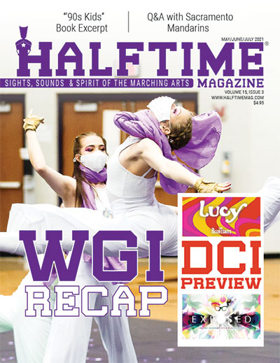 Halftime Magazine Cover - Current Issue