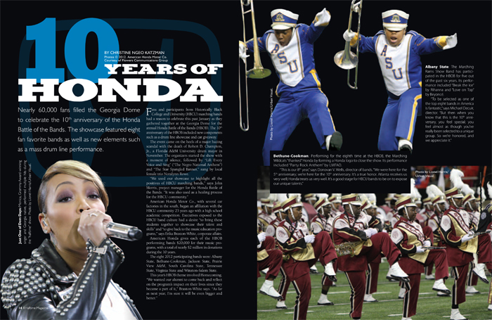 10 Years of Honda Battle of the Bands page 1