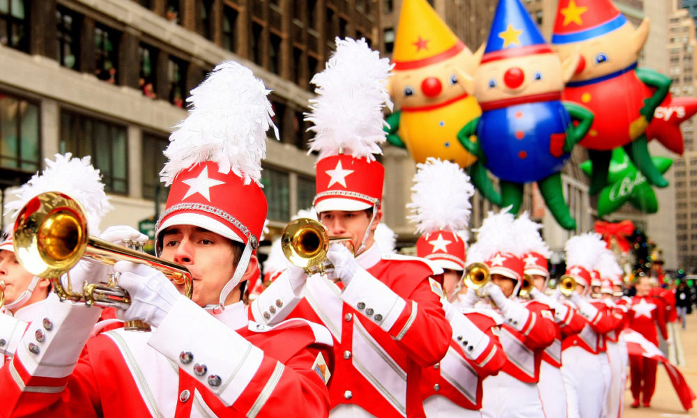 3bac6dc1564 90th Macy s Thanksgiving Day Parade Features 12 Bands - Halftime ...