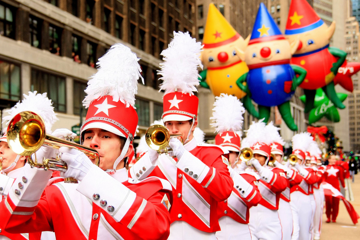 Articles about color guard - 2017 Macy S Thanksgiving Day Parade Bands