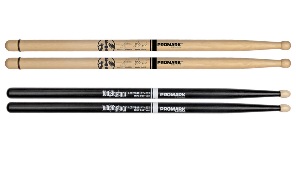 Promark Dc50 System Blue Marching Snare Sticks Txdc50w