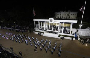 Frankfort High School Band performs in 2017 Presidential Inauguration Parade