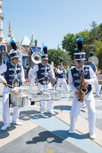 Professional Marching Band the Disneyland Band