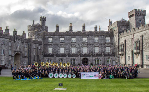 Three Pac-12 bands perform in Ireland