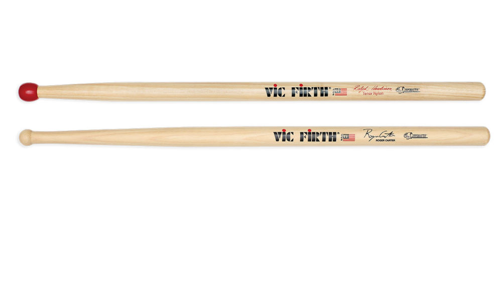 Vic Firth's Ralph Hardimon and Roger Carter Drumsticks