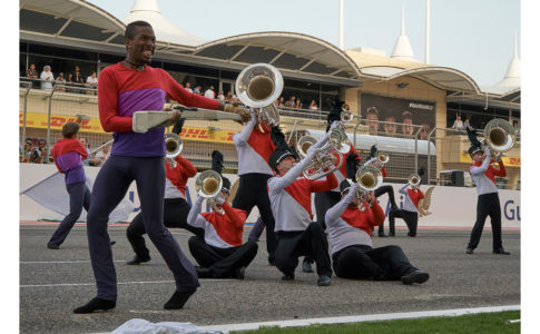 Blue Knights in Bahrain