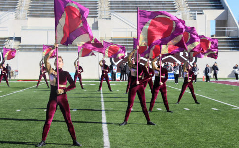 Missouri State University Pride Marching Band Color Guard