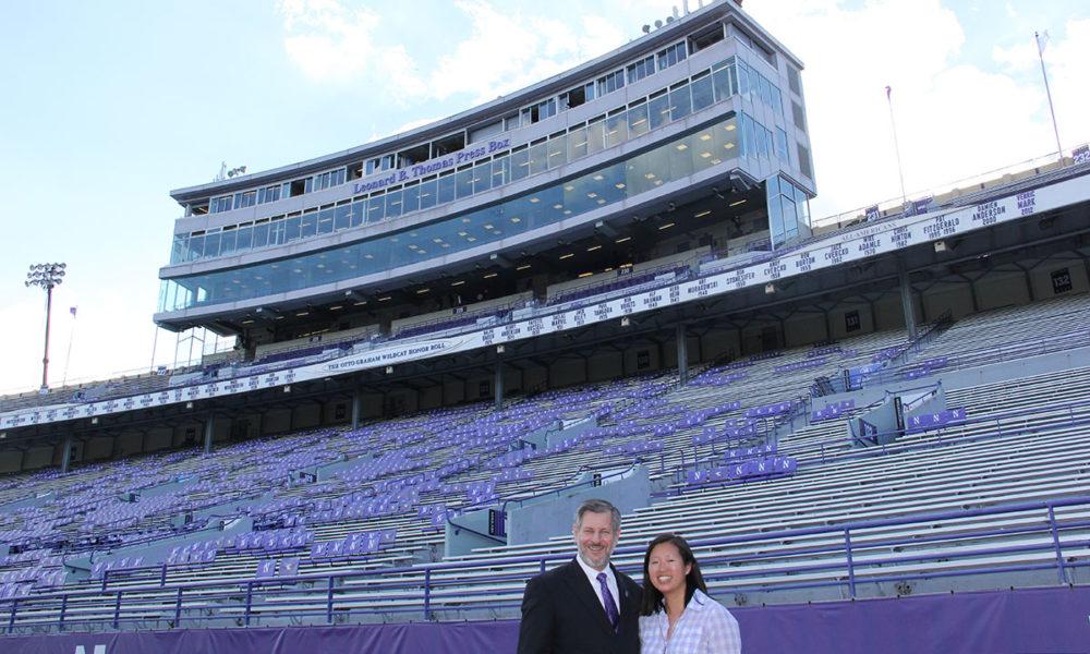 Photo of Pete Friedmann and Christine Ngeo Katzman.
