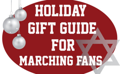 2017 Holiday gift guide for marching fans.