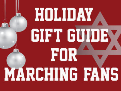 Holiday Gift Guide for Marching Fans