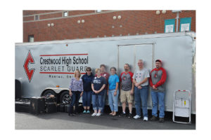 Crestwood Hight School Scarlet Guard Boosters