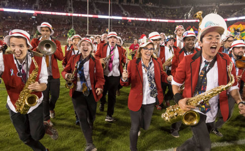 LeLand Stanford Junior University Marching Band Members led by Russell Gavin
