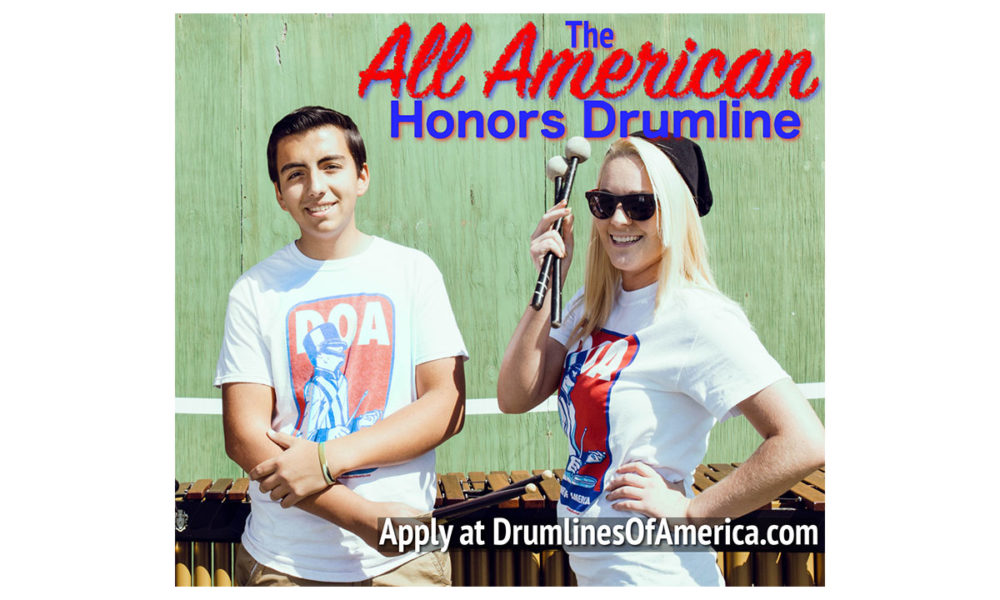 2017 All American Honors Drumline
