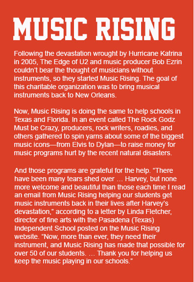 Learn more about Music Rising.