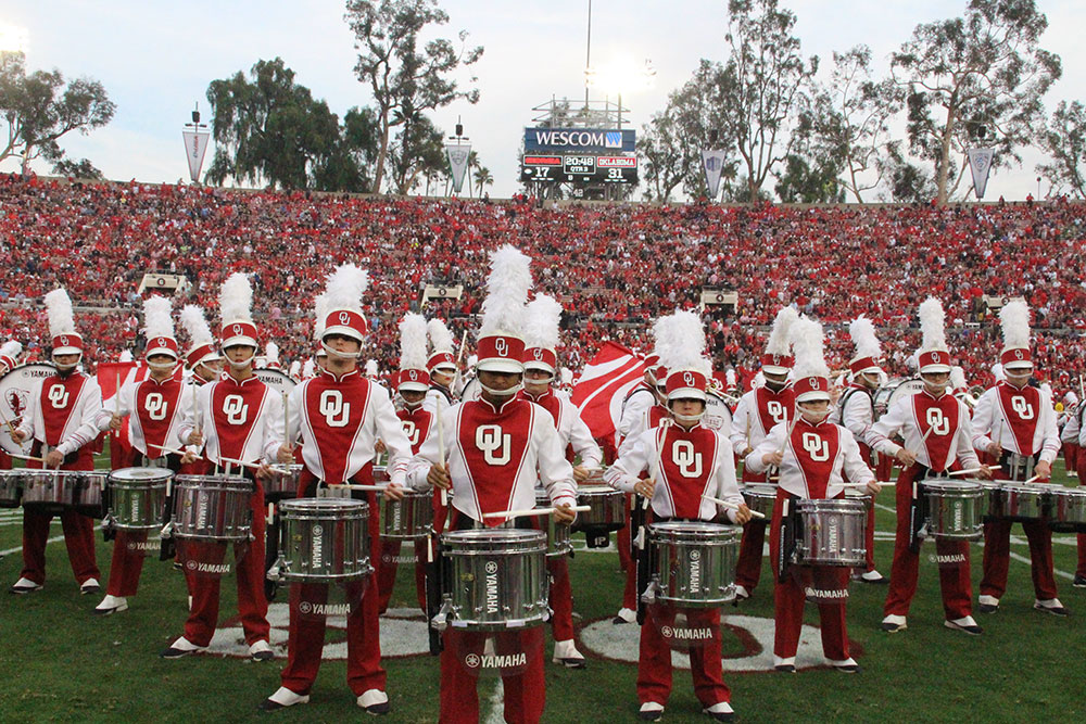 University of Oklahoma band