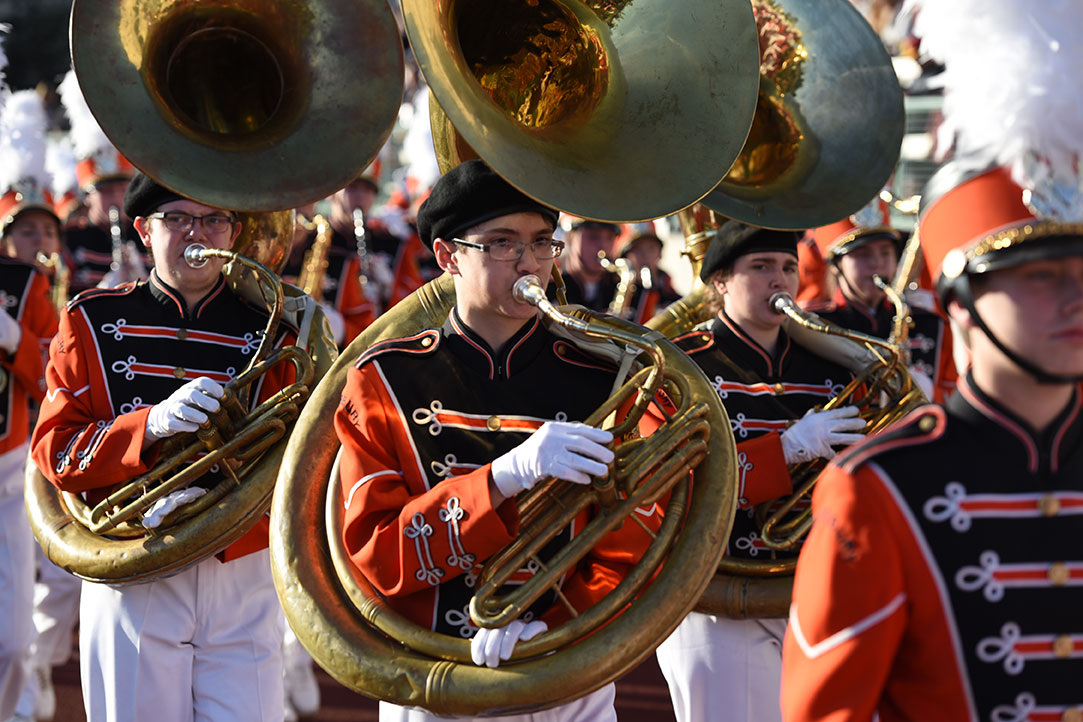 Pennsbury High School band from Fairless Hills, Pennsylvania