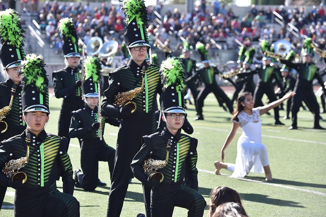 Ronald Reagan HS Band from San Antonio