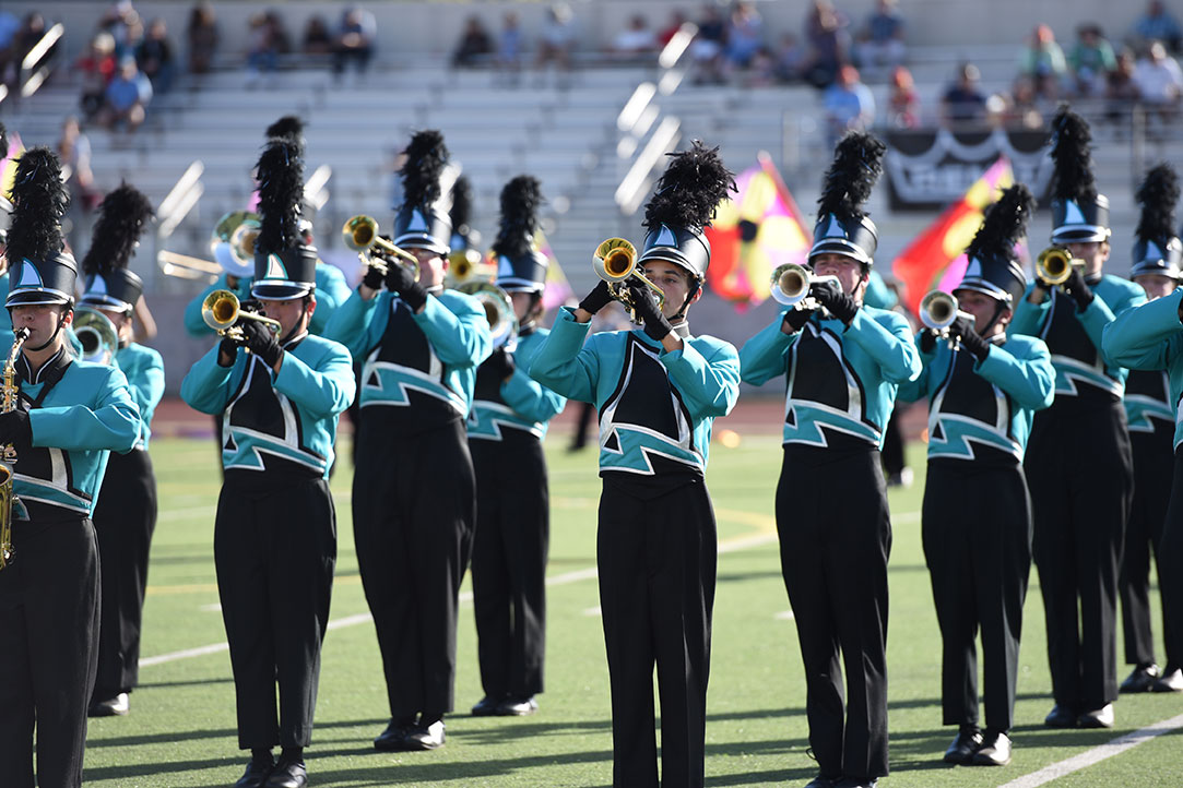 Santiago HS Bands of Santiago Sharks from Corona, California