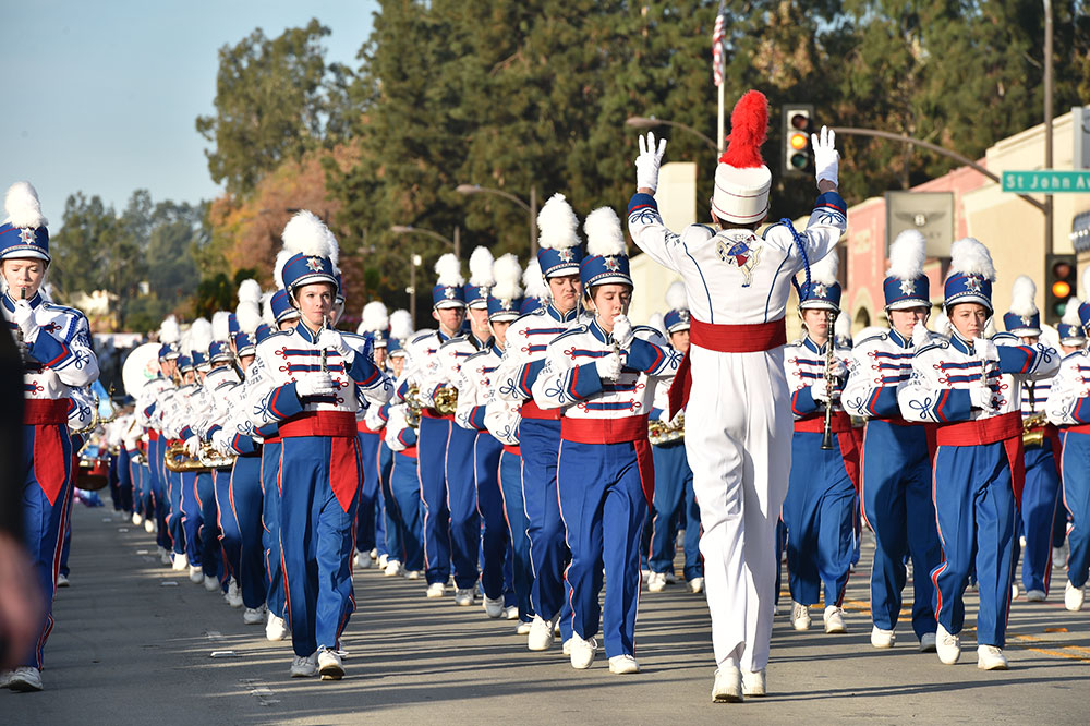 Londonderry High School band from New Hampshire
