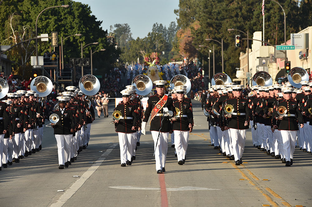 US Marine Corps West Coast Composite Band