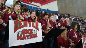 Pioneer Pep Band at the University of Denver