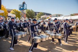 Utah State University band