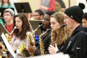 Irondale High School band