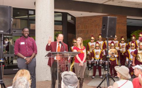 USC Band Gets New Pavilion
