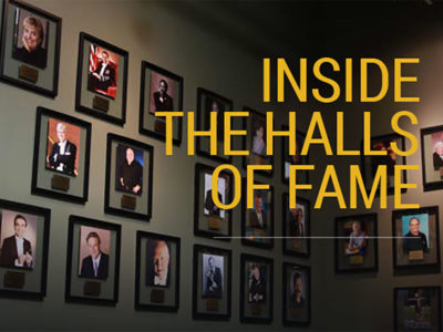 Inside the Halls of Fame