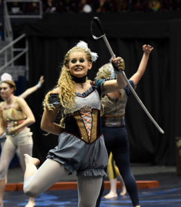 Avon (IN) HS winter guard