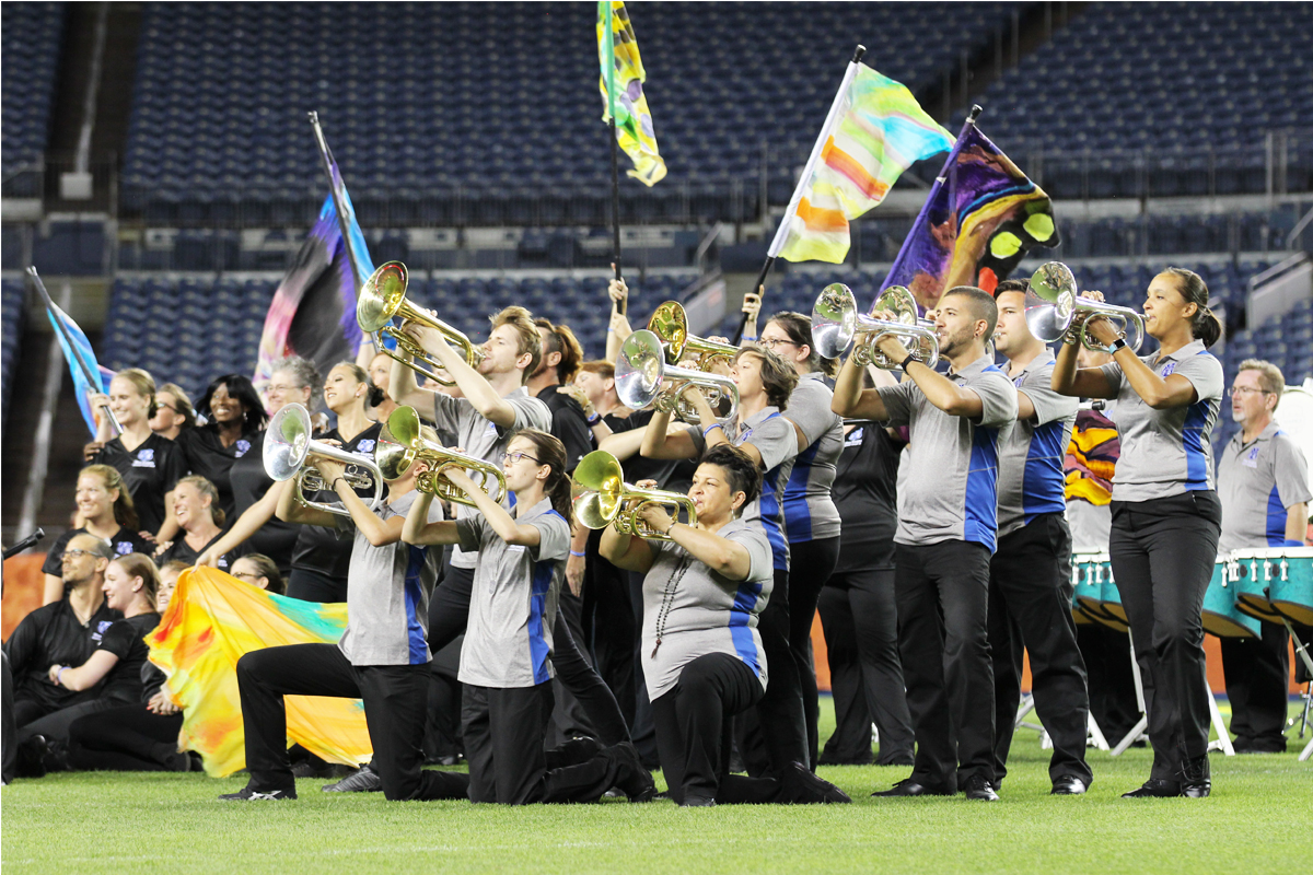 Blue Knights Drum and Bugle Corps alumni