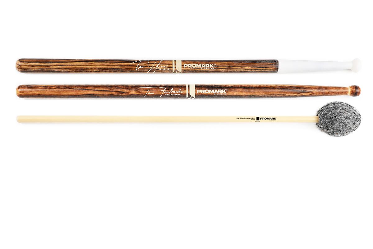 Promark signature drumsticks and mallets