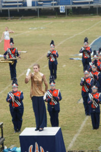 Drum Major Allison Hamilton