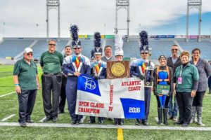 Photo of West Shore Marching Band.