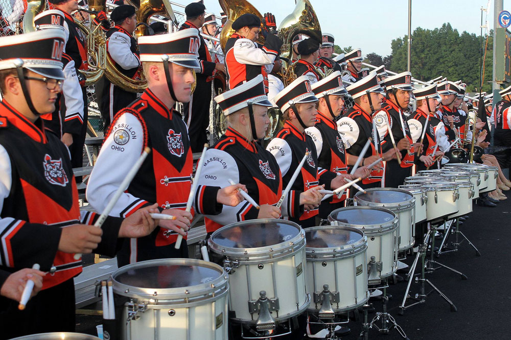 Massillon (Ohio) Tiger Swing Band at Washington High School