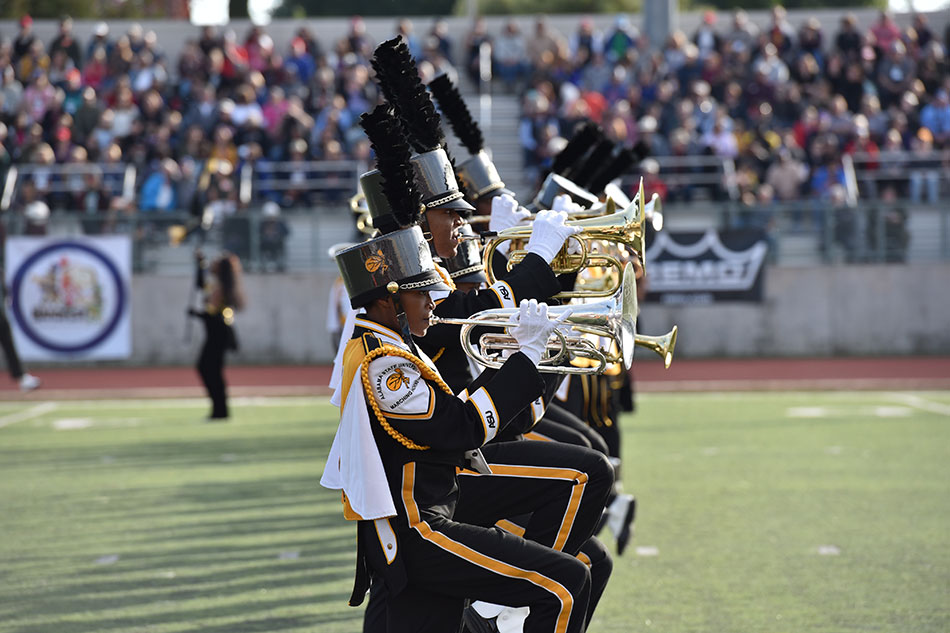 The Alabama State University Mighty Marching Hornets