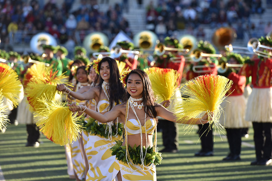 The Na Koa Ali'i – Hawaii All State Marching Band