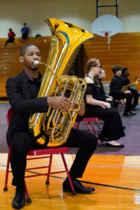 A photo of Music City Winds.