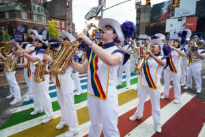 Photo of the Lesbian & Gay Big Apple Corps.