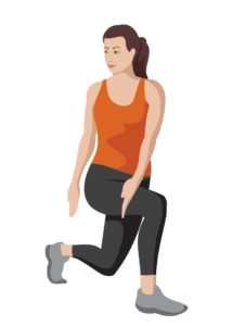 Learn about the twisting lunge to open up your hips.