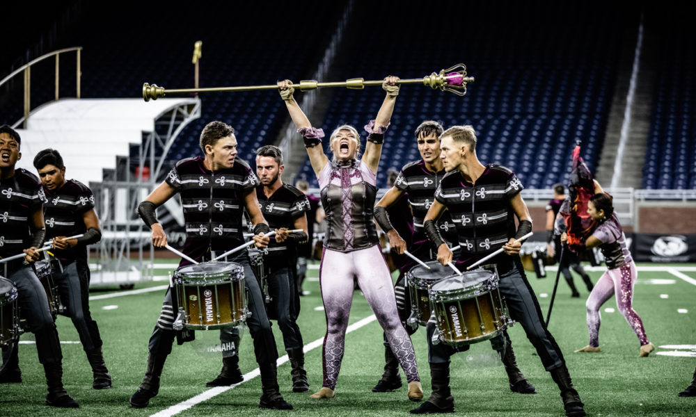 The Cadets Drum and Bugle Corps.