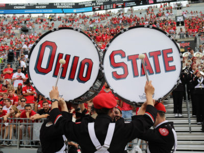 Ohio State raises $8.6 million for band schoolarships.