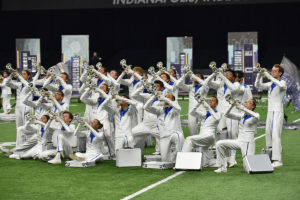 A photo of Gold Drum & Bugle Corp from DCI 2019.