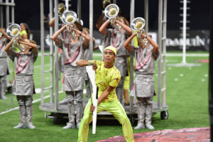 A photo of Santa Clara Vanguard Drum & Bugle Corp from DCI 2019.