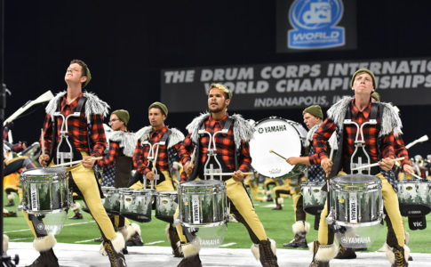 A photo of Blue Stars Drum & Bugle Corp.