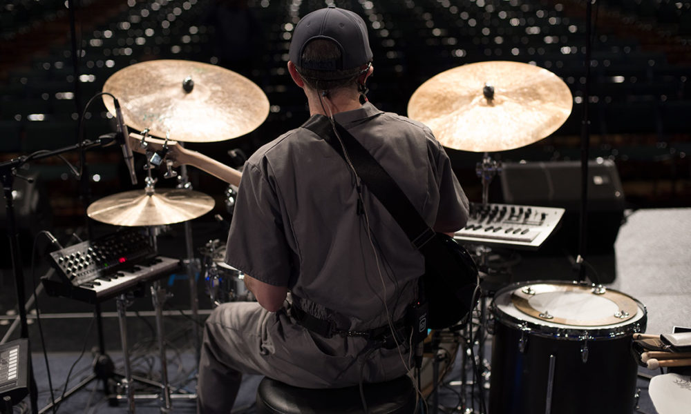 Percussive Arts Society holds solo artist competition.