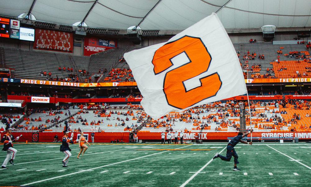 A photo of Syracuse (New York) University.